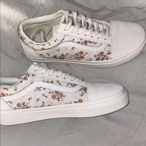 Vans Shoes | Vintage Floralmarshmallow